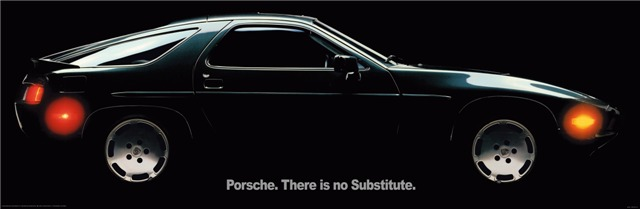 Image result for there is no substitute porsche