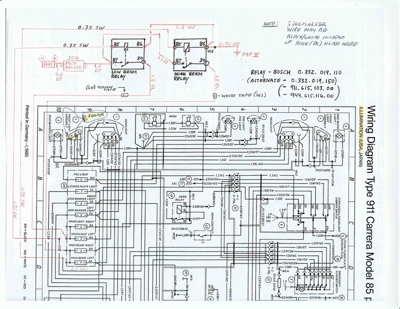 SCAN00081296673766 h5 \u003eh4 upgrade, relays, bulbs question about fuses? pelican 1985 porsche 911 wiring diagram at gsmportal.co