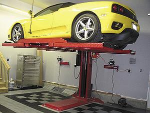 4 Post Lift For Single Car Garage Pelican Parts