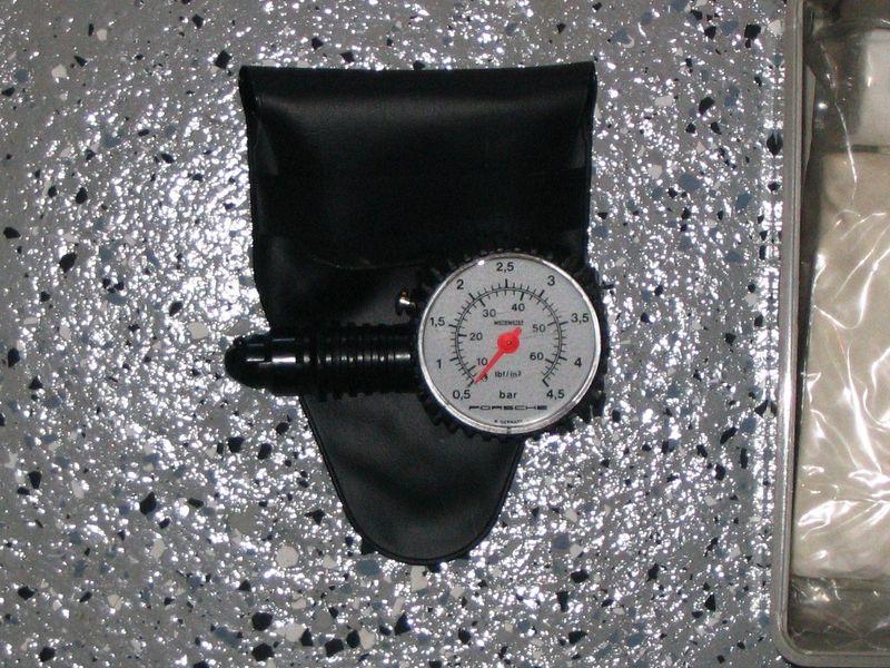 Fs First Aid Kit Amp Porsche Tire Pressure Gauge Pelican