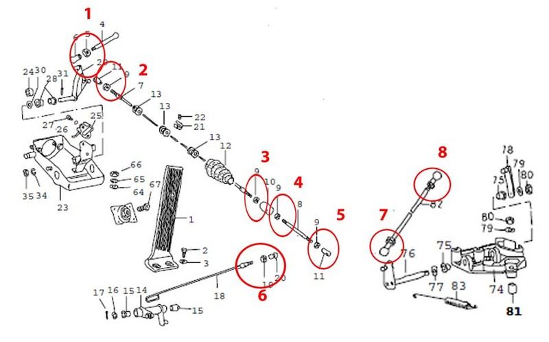 throttle linkage adjustment