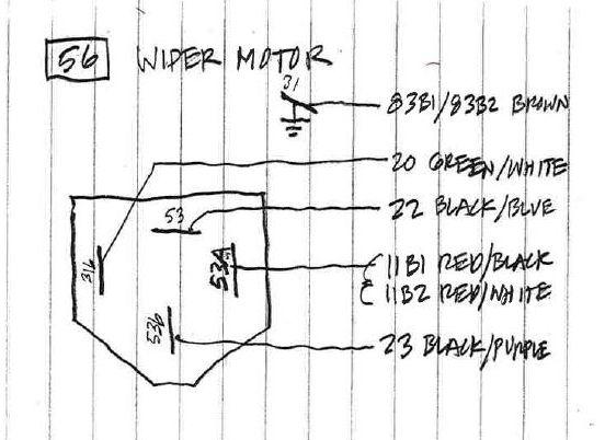 porsche 911 wiper motor wiring wiper free printable wiring diagrams