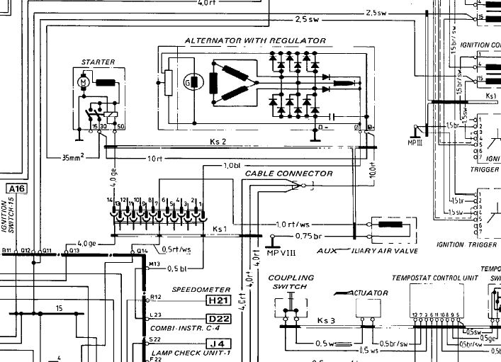 alternator exciter wiring diagram alternator wiring size