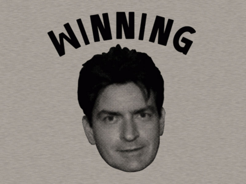 winning charlie sheen quotes. Quote: