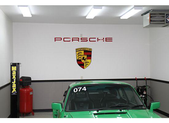 Porsche garage banner pictures to pin on pinterest daddy