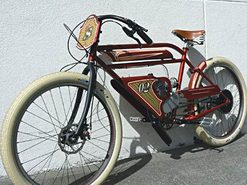 Bikes Gas Powered a gas powered project my