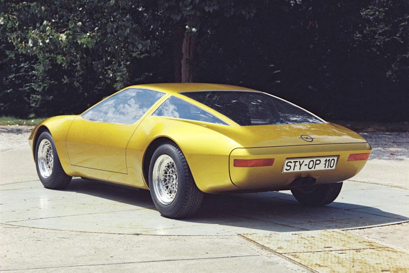 1975 Opel Gtw Geneve Concept. 1976 opel gtw geneve concept
