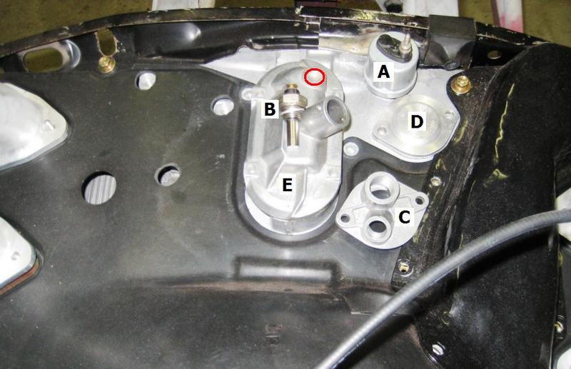 porsche 911 thermostat diagram oil temp sensor location for 3 6 conversion pelican  oil temp sensor location for 3 6 conversion pelican