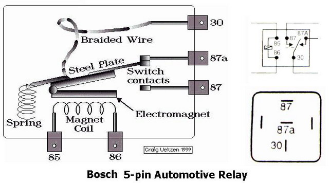 Very Simple Relay Wiring Question on wiring diagram for driving lights with a relay