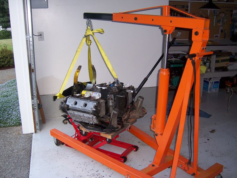 Best Way To Lift Engine On To Stand Yoke Pelican Parts