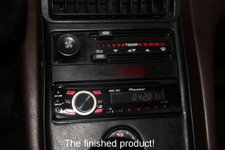 928 Stereo Install Thread W  Factory Amp
