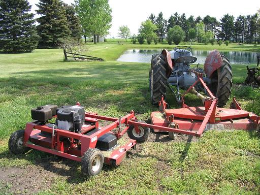 Offset Finish Mower : What s in your back yard pelican parts technical bbs