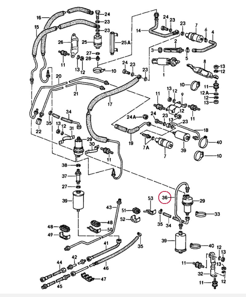 porsche 914 fuel injection wiring diagram