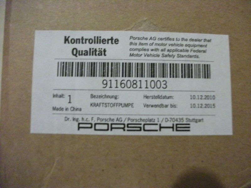 Where Is Porsche Made >> Genuine Porsche Parts Made In Where Pelican Parts Forums