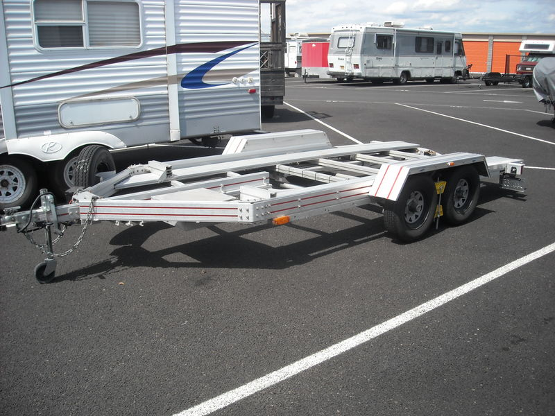 Cars For Sale Portland Oregon >> Used Trailex CT7031 open aluminum car trailer for sale ...