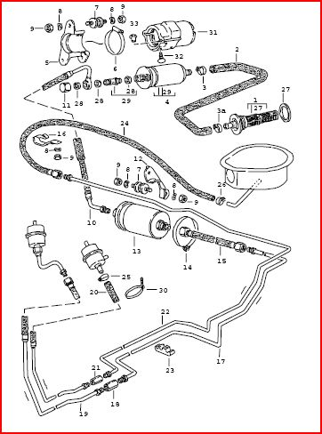 Porsche 944 Fuel Pump Wiring Diagram