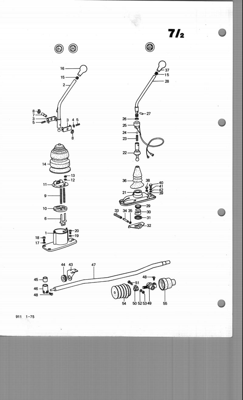 service manual  how to adjust transmission linkage 1991 porsche 911