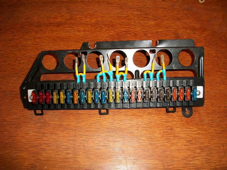 ATO fuse panel w/Headlight relays! - Pelican Parts Forums