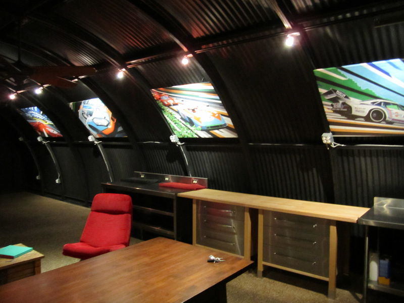Man Cave Store Newport : I want a quonset hut so can do this grassroots