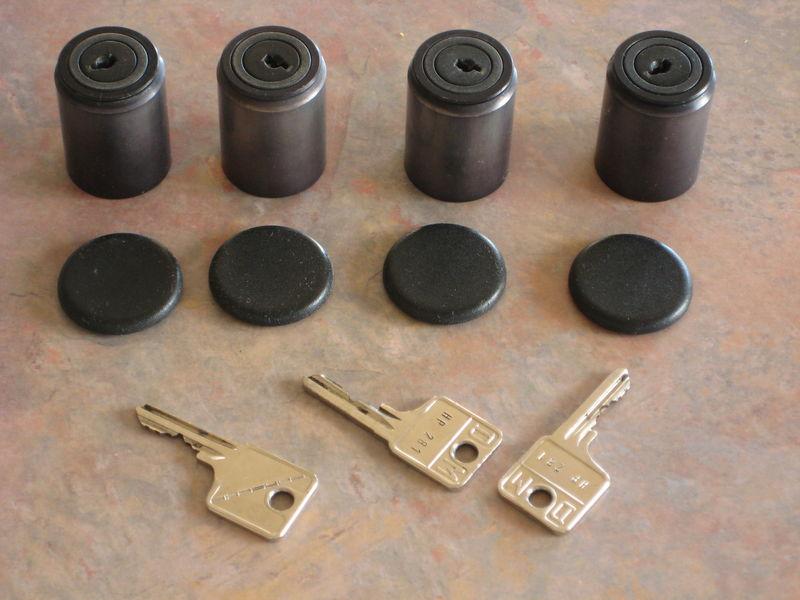 Original Porsche Lug Nut Locks for 80's Carrera - Pelican Parts ...
