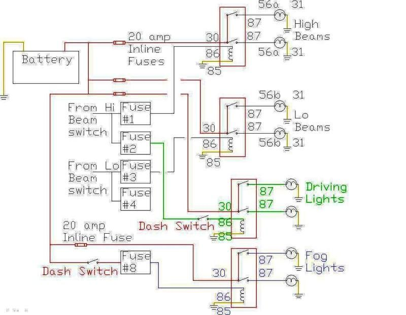 Cibie Hood Light Wiring Diagram Needed