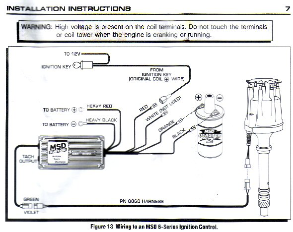 msd wiring harness chrysler distributor question. and msd - pelican parts forums