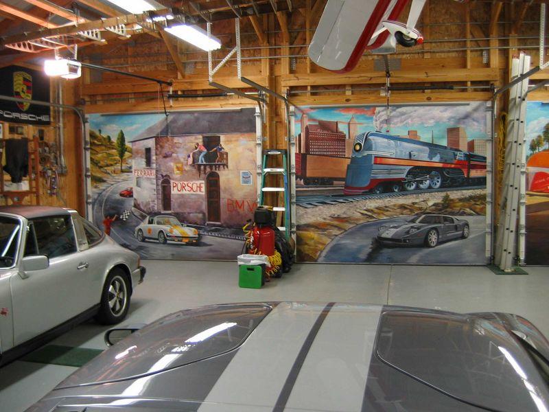 Inside garage door murals wageuzi - Inside of a garage ...