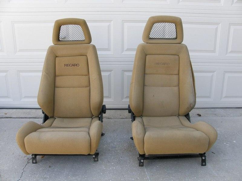 recaro lx cloth seats for sale pelican parts technical bbs. Black Bedroom Furniture Sets. Home Design Ideas