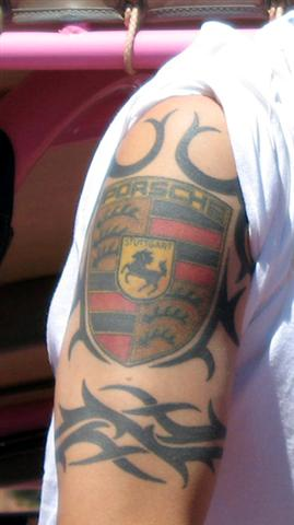 Does Anyone Have A Porsche Inspired Tatoo Pelican Parts