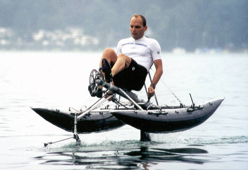 Why Paddles Instead Of Propellers Human Powered Page