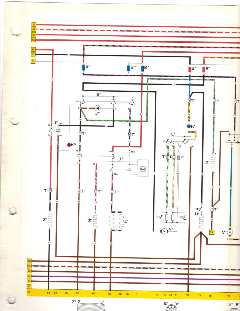 1977 930 turbo wiring diagram sets pelican parts technical bbs
