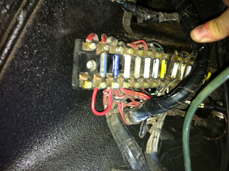 69 912 new engine starter blowing fuses when trying to start rh forums pelicanparts com porsche 914 fuse box porsche 914 fuse box cover