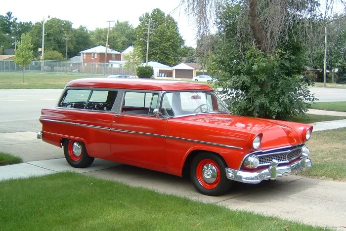 1955 ford station wagon 2 door for 1955 ford 2 door wagon