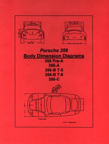 356 Porsche Body Dimension Crash Diagrams Pelican Parts