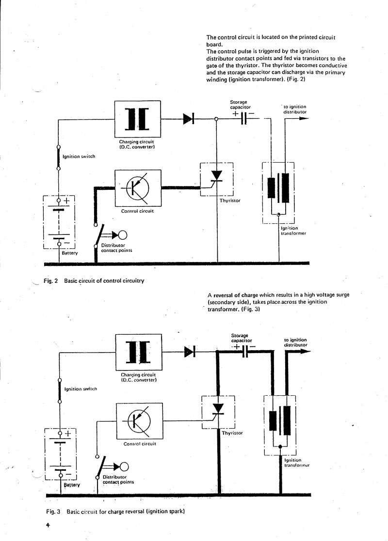History Of Bosch Cdi Toubleshooting Info Parts List Changes Sym Ignition Wiring Diagram Here Are The First Documents
