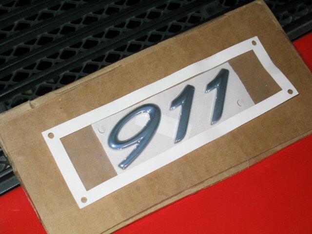 911 emblem installation pics pelican parts forums. Black Bedroom Furniture Sets. Home Design Ideas