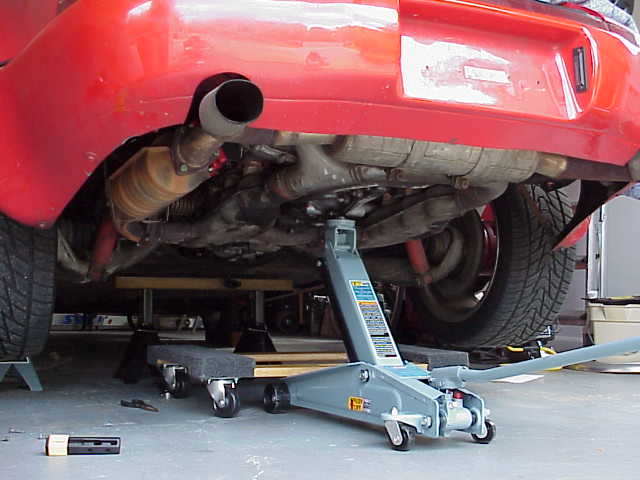 Dan  here s a good shot of your  my    20 00 furniture dolly from Home Depot. How high will Car Need to be Jackstands to Remove Engine
