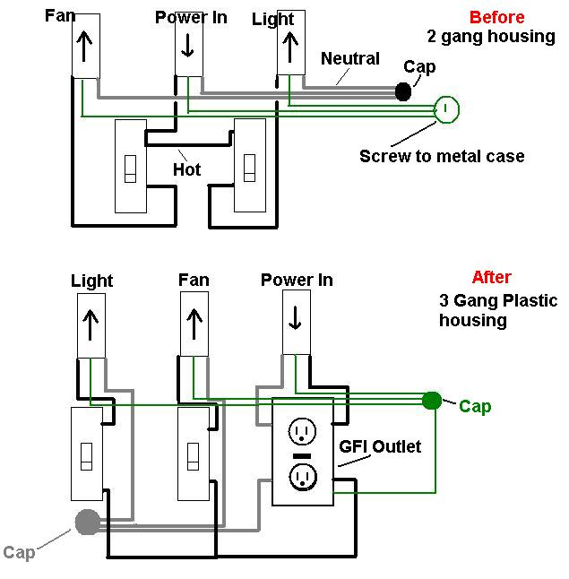 home electrical wiring question complete with diagram pelican rh forums pelicanparts com common electrical wiring faults common electrical wiring diagrams