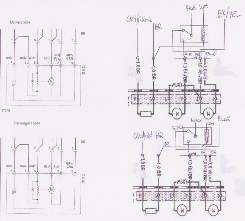Wtb Electric Wiring Module For Aero Mirrors 911 78