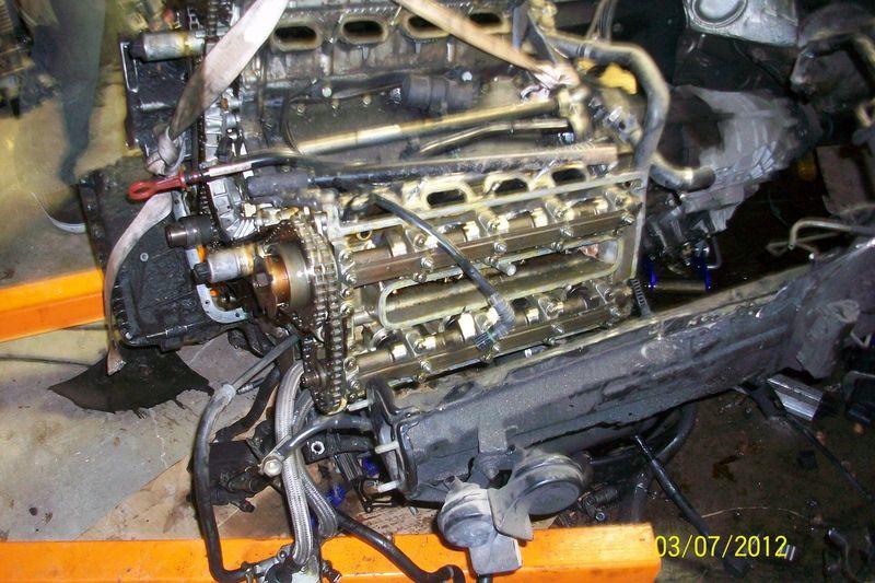 1998 Bmw 540i Engine And  Or Transmission