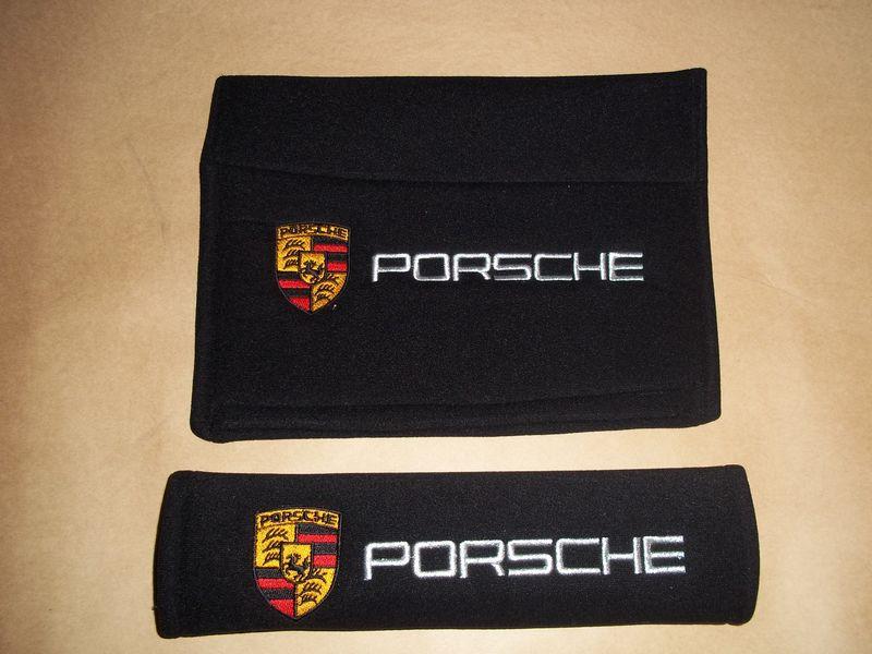 F S Seat Belt Pads Quot Porsche Quot Pelican Parts Forums