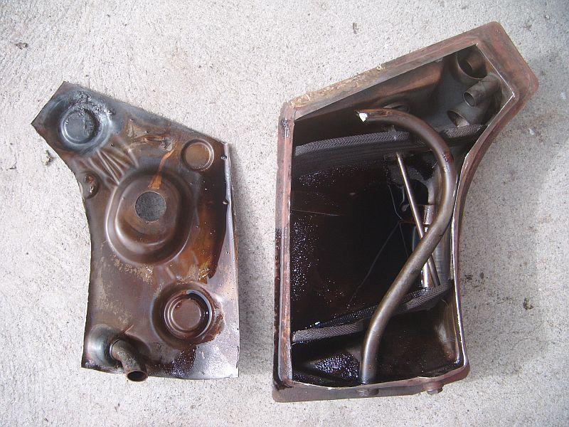964 Oil Tank Into  U0026 39 76 W   Turbo Flares