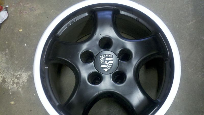 Porsche Cup 1 Wheels 7 5 And 9 17 Inch 400 Or Offer