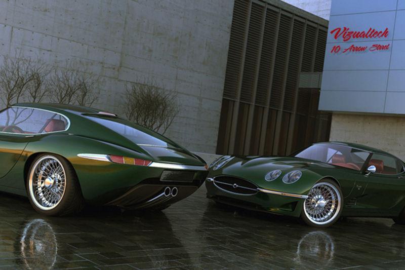 2012 Jaguar E Type Inspired Growler E Pelican Parts