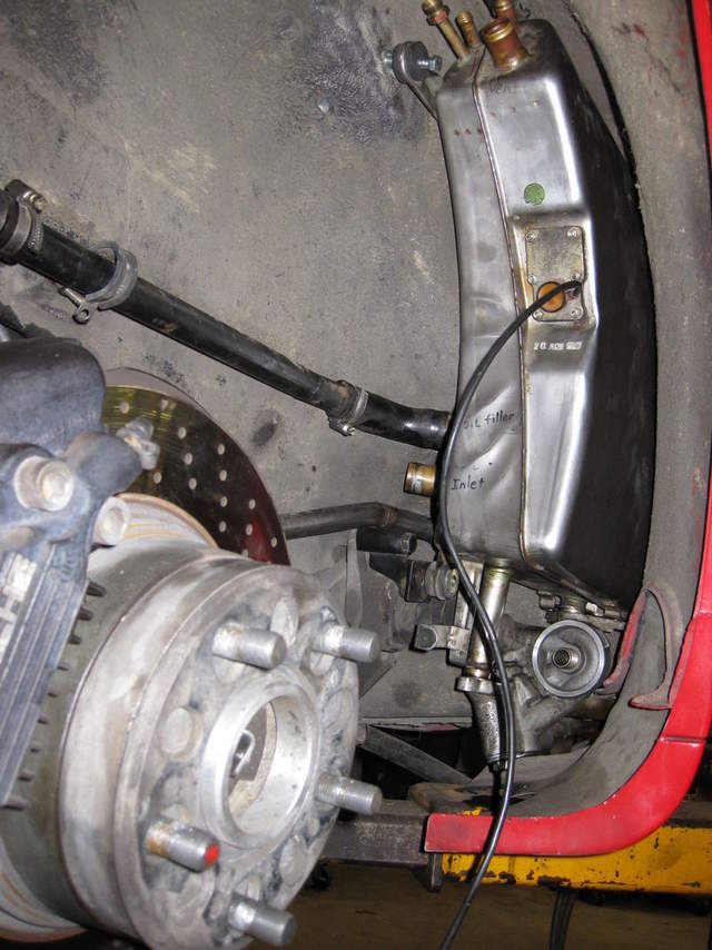 964 Oil Tank Into 76 W Turbo Flares Pelican Parts Forums