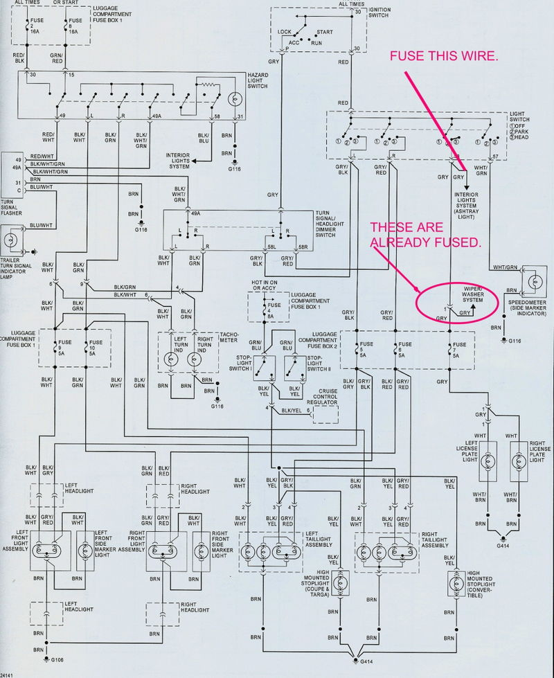 Wiring Diagram Together With 1976 Porsche 911 On 1985 Porsche 911 ...