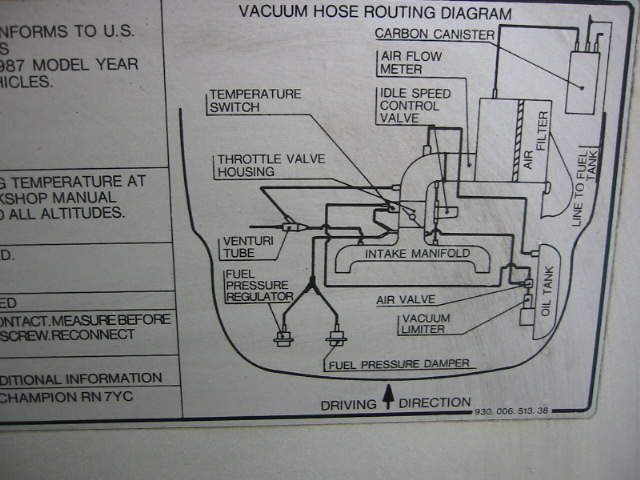 Anyone Have A Schematic For The Vacuum Lines On A Carrera