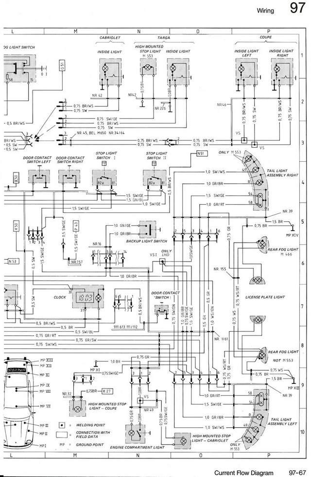 wiring diargram for drivers side tail light plug 84. Black Bedroom Furniture Sets. Home Design Ideas