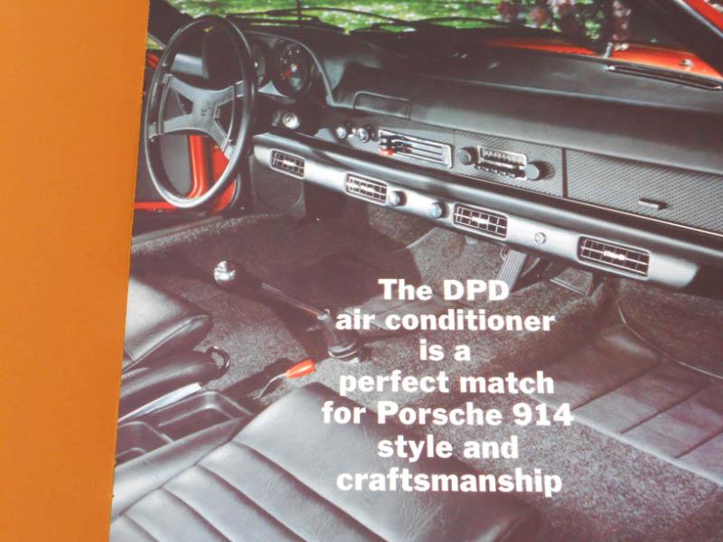Rare 914 Dpd Air Conditioner Brochure Literature Pelican