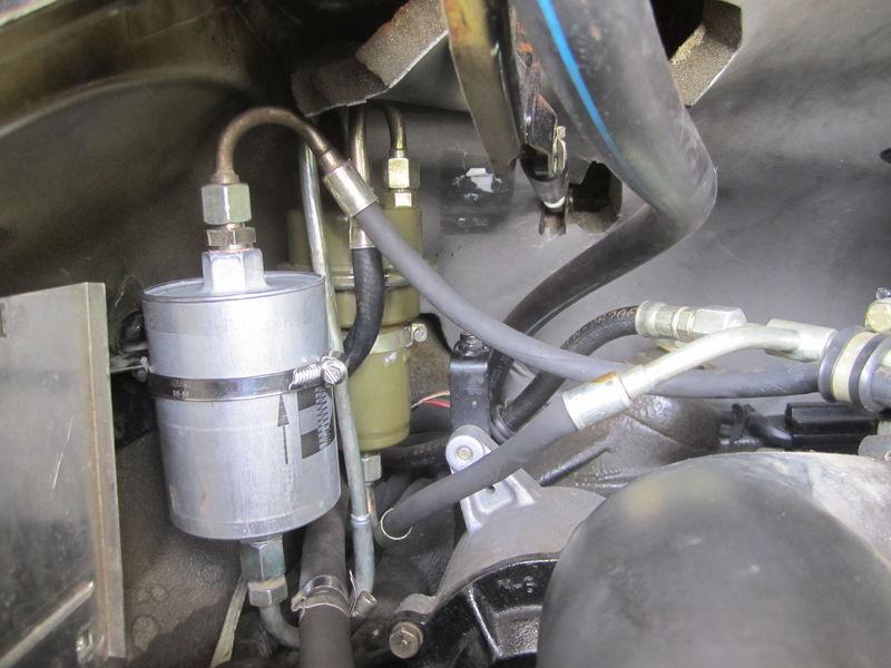 Fuel Line Locations Filter And Accumulator Pelican Parts